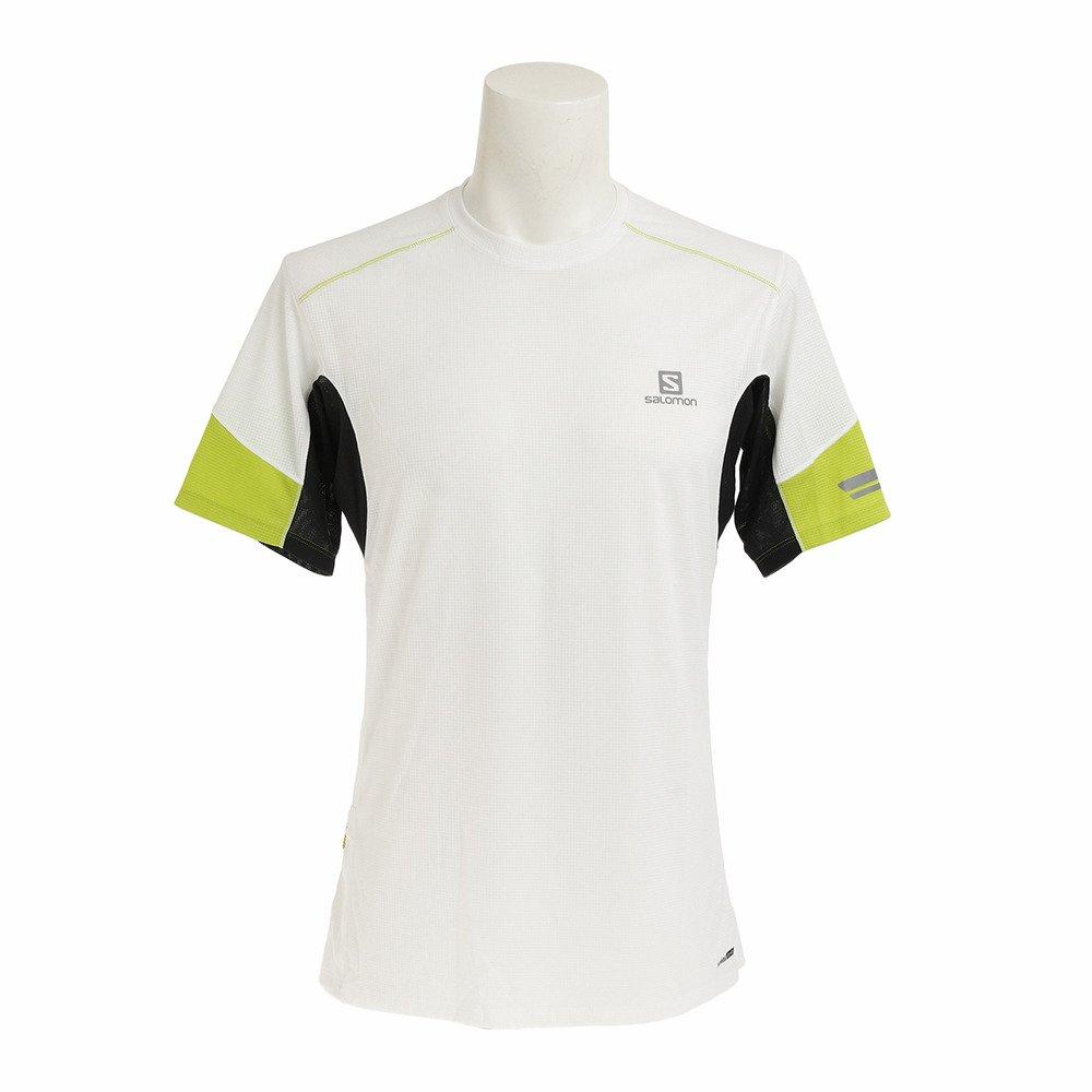 Salomon Agile SS M Camiseta de Manga Corta, Hombre, Blanco (White), S: Amazon.es: Ropa y accesorios