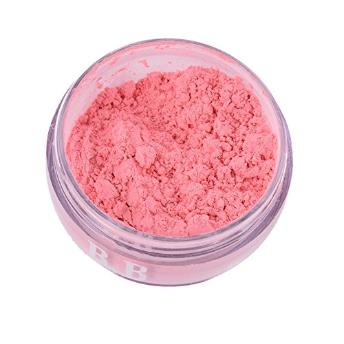 EFINNY Natural Matte Cheek Blush Loose Powder Smooth Face Mineral Blusher and Mirror
