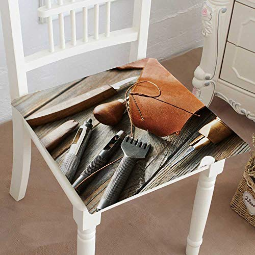 - Mikihome Indoor/Outdoor All Weather Chair Pads Leather Craft DIY Tools Still Life Seat Cushions Garden Patio Home Chair Cushions 30