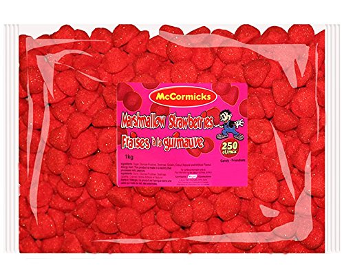 McCormicks Marshmallow Strawberries, 250 Count by McCormicks