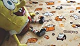SPJ: Japanese Smartphone Game Neko Atsume Blanket Cute Kitty Cats Pattern Coral Fleece Warm Soft Lap Robe (L)