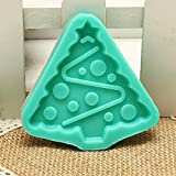 Christmas Tree Silicone Chocolate Cake Mold Jelly Pudding Mould