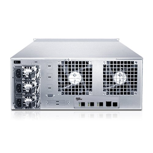 Sans Digital EliteSTOR - 4U 24 Bay 12G SAS/SATA to SAS JBOD with 12G SAS Expander Rackmount (ES424X12)
