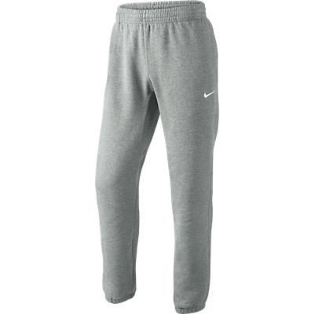 Nike Herren Sweathose Squad Fleece  L|Dk Grey Heather/White