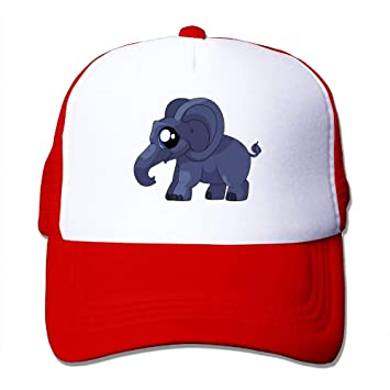 Reghhi Elephant AN King and Queen Poker Cards Mesh Gorra de ...