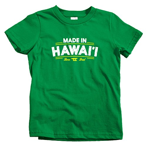 Smash Transit Kids Made in Hawaii V2 T-Shirt - Kelly Green, Youth X-Large