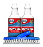 It Just Works! Stone- eez Is A Safe But Very Strong Professional Strength Restorative Cleaner. It Will Remove Years Of Dirt And Grime From Marble, Granite, Travertine, Limestone & Slate.