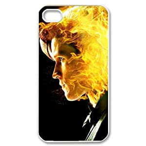 Doctor Who Matt Smith Custom Case for iPhone 4 4S, VICustom iPhone Protective Cover(Black&White) - Retail Packaging
