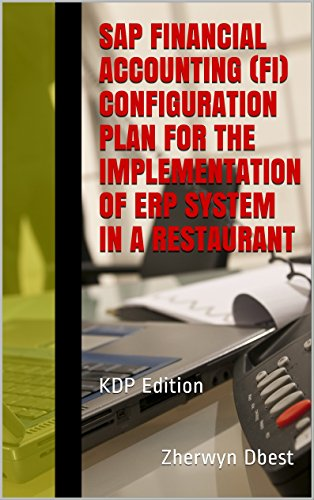 SAP Financial Accounting (FI) Configuration Plan for the