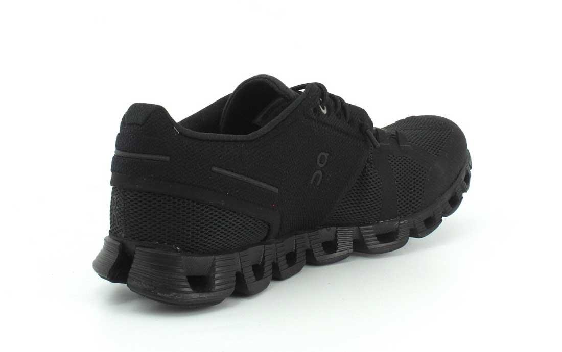 On Cloud Womens Black Shoe Low Top Lace up B(M) Running Sneaker B072C3T92B 7 B(M) up US|All Black 914c60