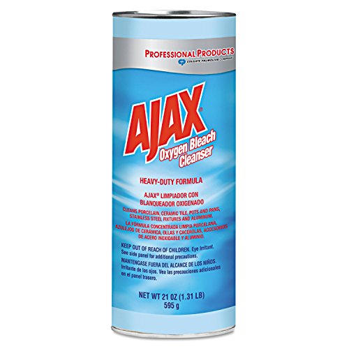 Ajax Oxygen Bleach Powder Cleanser (Calcite Base) (14278CPL) Category: Scouring Cleaners (Bleach Powder Cleanser Calcite Base)