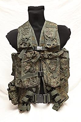 Russian army genuine 6sh117 modular load bearing tactical vest