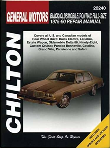 GM Full-Size Buick, Oldsmobile, and Pontiac, 1975-90 (Chilton Total on