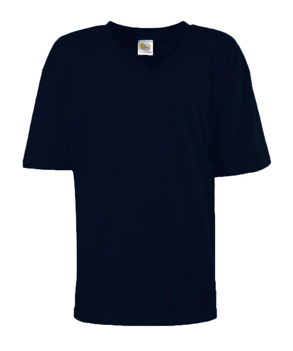 Rammbock T-Shirt 14 Farben 3XL bis 12XL Extra Lang Unifarben V- und Rundhals  Übergröße: Amazon.de: Bekleidung