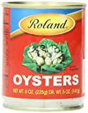 Roland Oysters, 8 Ounce (Pack of 6)