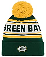 NFL Green Bay Packers Kids Cuffed Beanie with Pom
