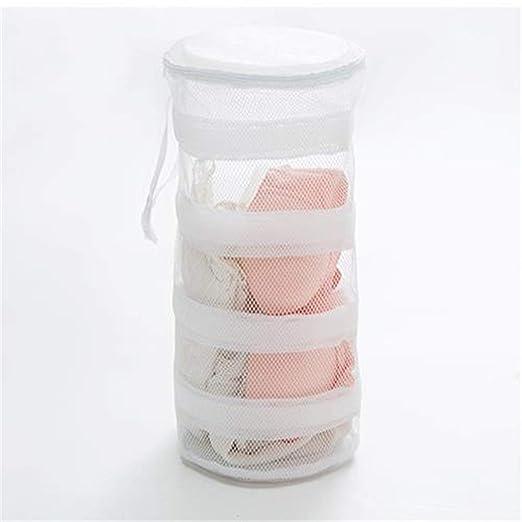 Kongqiabona bolsas de lavandería redondas que cuelgan las ...