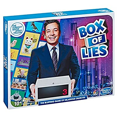 Hasbro Gaming The Tonight Show Starring Jimmy Fallon Box of Lies Party Game for Teens and Adults: Toys & Games