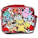 Pokemon Lunch Bag with Adjustable Shoulder Strap - Not Machine Specific