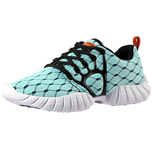 ALEADER Women's Lightweight Mesh Sport Running Shoes Light Blue 8.5 D(M) US