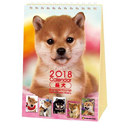 Shiba Inu Calendar 2018 Shiba Dog Desktop Mini Size Calendar (Japanese Calendar) ()