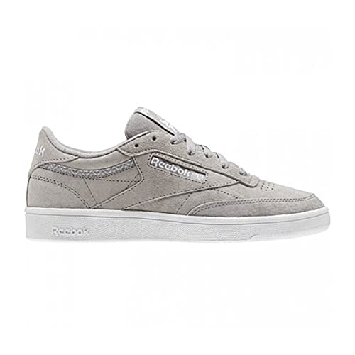 Zapatillas Reebok Club C 85 Trim Nbk GrisBlanco: Amazon