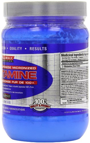 ALLMAX Nutrition Glutamine Powder, 400g