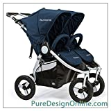 Bumbleride 2018 Indie Twin Stroller - color = Maritime Blue