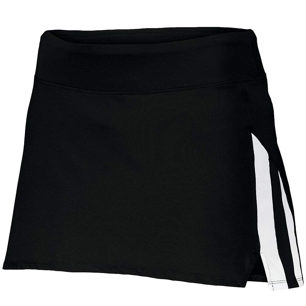 Augusta Sports Ladies XL Black/White Full Force Skort