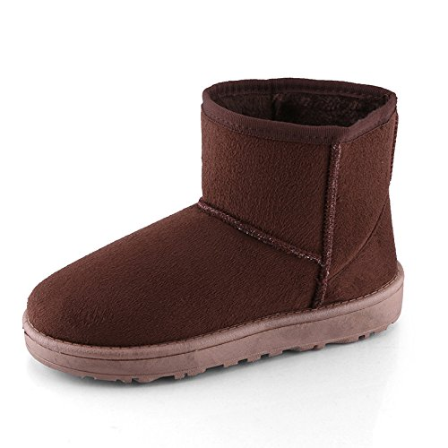 Boots Women Warm Coffee Warm Boots Coffee Warm Women Women 1qFwvgnv