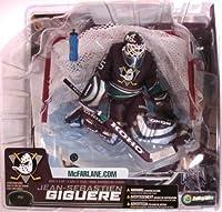 McFarlane NHL Series 7: Jean-Sebastien Giguere Anaheim Mighty Ducks Goalie DARK VARIANT Jersey