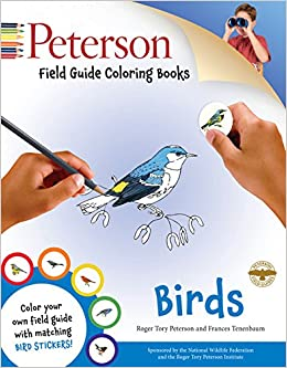 Peterson Field Guide Coloring Books Birds Color In Peter Alden Roger Tory John Sill 9780544026926 Amazon