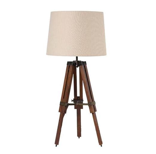 Amazon.com: LED E27 Lámpara de mesa creativa estilo retro ...
