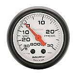 Auto Meter 5703 Phantom Mechanical Boost/Vacuum Gauge