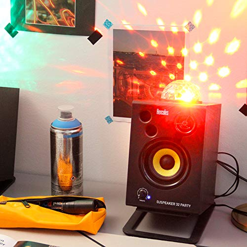 Hercules DJSpeaker 32 Party | 15-Watt RMS monitor speakers with tempo-synced light show by Hercules DJ (Image #5)