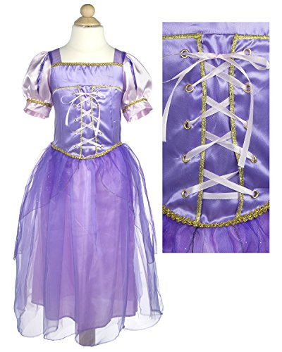 My Princess Academy Girls Elegant Costume Character Dress Purple Small