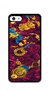 Customized Dual-Protective iphone 5c case for girls 3d - Blue black ink