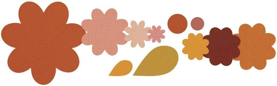 Strati di Fiori /& Foglie di Stephanie Barnard Framelits Fustelle Set di 11 PZ