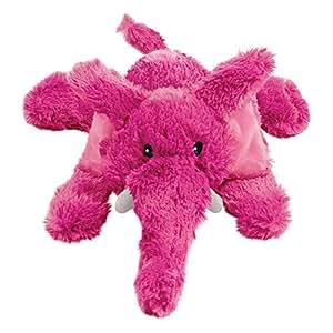 Pet Supplies : Pet Squeak Toys : KONG Cozie Elmer the