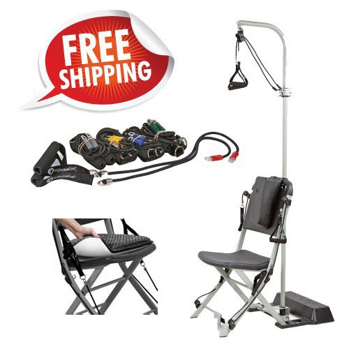 Resistance Chair + Freedom Flex - Everything You Need for Upper Body with the Resistance Chair by VQ ActionCare