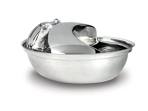 best stainless steel pet water fountain