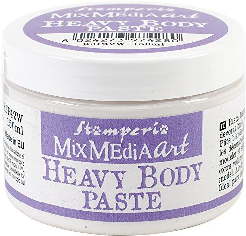 Stamperia Intl K3p42w Stamperia Heavy Body Paste 150ml-White -