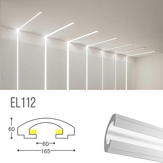 el112 - corte de luz indirecta LED de Techo empotrable en el ...