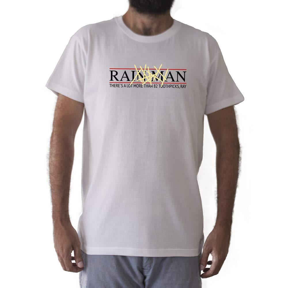 GAMBA TARONJA Rain Man - Camiseta - TOOTHPICKS - Dustin Hoffman ...