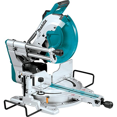 Makita LS1219L 12 inch Dual-Bevel Sliding Compound Miter Saw with Laser