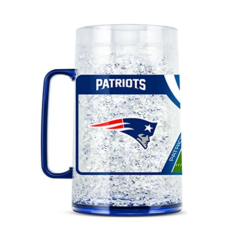 NFL New England Patriots 38oz Crystal Freezer Monster Mug