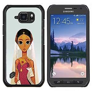 Stuss Case / Funda Carcasa protectora - Le conte de fées du personnage pour enfants - Samsung Galaxy S6Active Active G890A