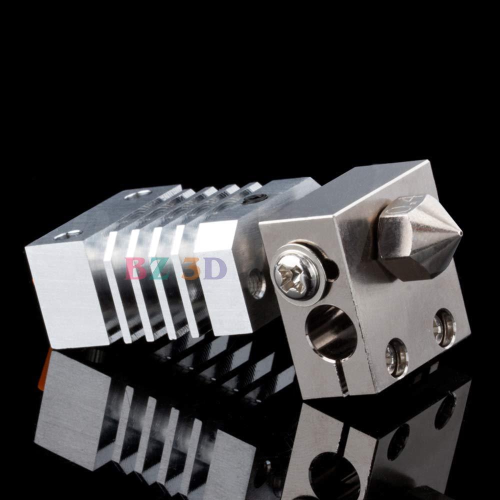 Dissipatore + HeatBreak S5 Ender 3 Pro Ender-5 Stampante 3D Hotend Titanio Breaker. BZ 3D CR10 Dissipatore di calore All Metal Hotend Kit di aggiornamento per CR-10 CR-10S CR-10 S4