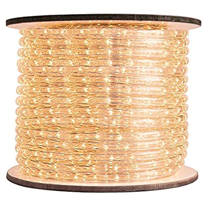 Amazon 38 in incandescent warm white rope light 2 incandescent warm white rope light 2 wire aloadofball Choice Image