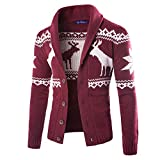 Yuxikong Mens' Coat, Winter Christmas Sweater
